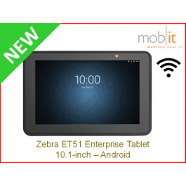 Zebra ET51 Tablet, 10.1-Zoll, Android, WLAN, Bluetooth