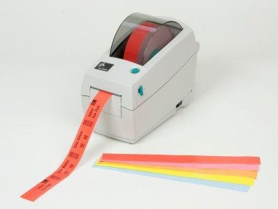 Zebra Desktop Printer | Wristbands, Armbänder, Bracelets | ☎ 044 800 16 30 | mobit