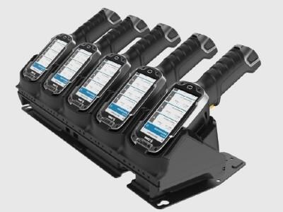 Zebra TC8000 5-fach Ethernet/Charging Cradle