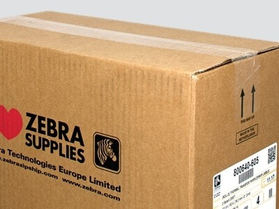 Zebra Verpackungseinheit Grossrollen
