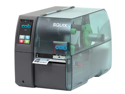 cab SQUIX 4 Label Printer, Etikettendrucker, Imprimante d'étiquettes | ☎ 044 800 16 30 | mobit.ch