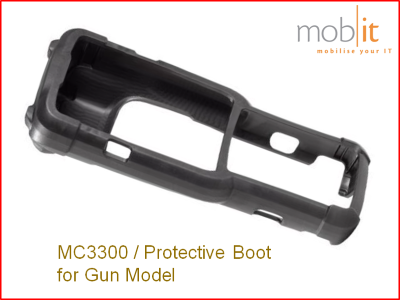 Zebra MC3300 Protective Boot for Gun Model