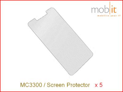 Zebra MC3300 Screen Protector - 5 Pack