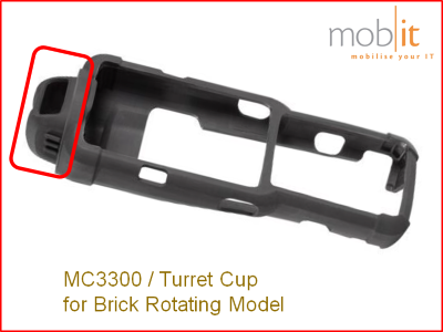 Zebra MC3300 Turret Cup for Brick Rotating Model | ☎ 044 800 16 30 | mobit