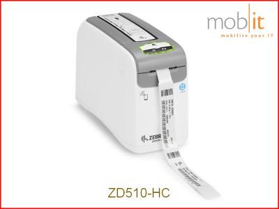 Zebra ZD510-HC Armbanddrucker, Imprimante de bracelets | ☎ 044 800 16 30 | mobit