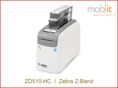 Zebra ZD510-HC Armbanddrucker, Imprimante de bracelets | ☎ 044 800 16 30 | mobit.ch