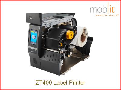 Zebra ZT400 Label Printer, Etikettendrucker, Imprimante d'étiquettes | ☎ 044 800 16 30 | mobit.ch