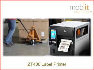 Zebra ZT400 Label Printer, Etikettendrucker, Imprimante d'étiquettes | ☎ 044 800 16 30 | mobit