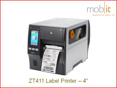 Zebra ZT411 Label Printer, Etikettendrucker, Imprimante d'étiquettes | ☎ 044 800 16 30 | mobit.ch