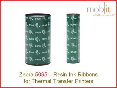 Zebra 5095 - Ink Ribbon, Farbband, Ruban encreur, Nastri per stampanti |☎ 044 800 16 30, info@mobit.ch