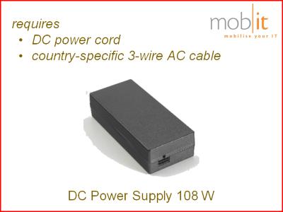 Zebra Mobile Computer Power Supply 108W | PWR-BGA12V108W0WW | ☎ 044 800 16 30 | mobit