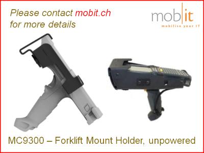 Zebra MC9300 Forklift Mount Holder | MNT-MC93-FLCH-01 | ☎ 044 800 16 30 | mobit