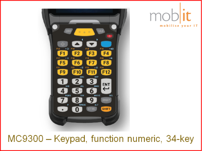 Zebra MC9300 Keypad 34 | KYPD-MC9334FNR-01 | ☎ 044 800 16 30 | mobit