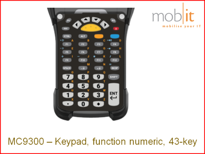 Zebra MC9300 Keypad 43 | KYPD-MC9343FN-01 | ☎ 044 800 16 30 | mobit