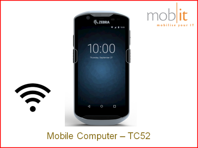 Zebra TC52 Mobile Computer - Handheld Android WLAN | TC520K-1PEZU4P-A6 | mobit