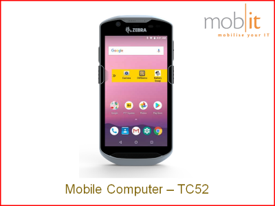 Zebra TC52 Mobile Computer - Handheld Android WLAN | mobit.ch