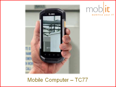 Zebra TC77 Mobile Computer - Handheld Ruggedized IP67 Android WLAN + WWAN | mobit.ch