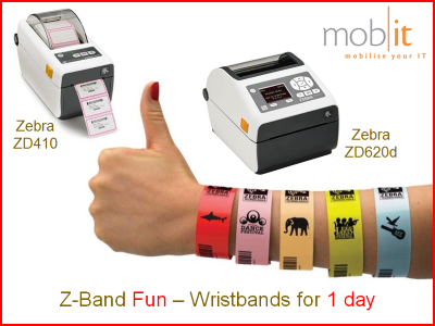 Zebra Z-Band Fun Wristbands, Armbänder, Bracelets |☎ 044 800 16 30, mobit