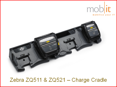 Zebra ZQ500 Charge Cradle | P1063406-053 | ☎ 044 800 16 30, info@mobit.ch