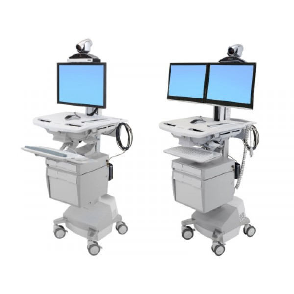 Ergotron Style View | Medical Caddy, Computerwagen, Chariots médicaux | mobit.