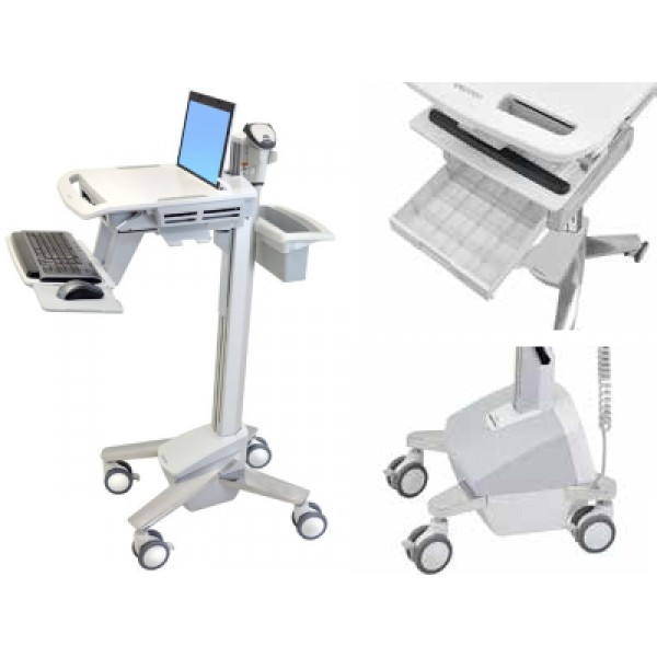 Ergotron Style View | Medical Caddy, Computerwagen, Chariots médicaux | mobit