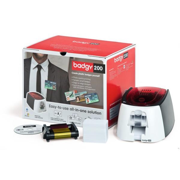 Evolis Badgy200 | Card Printer - Kartendrucker - Imprimante cartes | mobit