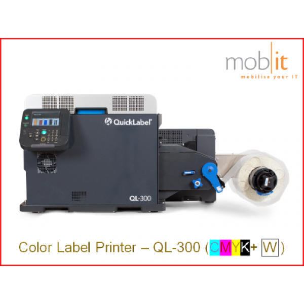 AstroNova QuickLabel QL-300 Color Label Printer CMYK+W 1200 dpi | 43020015 | mobit.ch