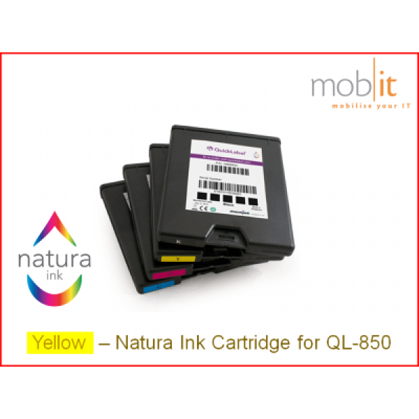 AstroNova QuickLabel Ink Cartridge Yellow for QL-850 | ☎ 044 800 16 30 | mobit