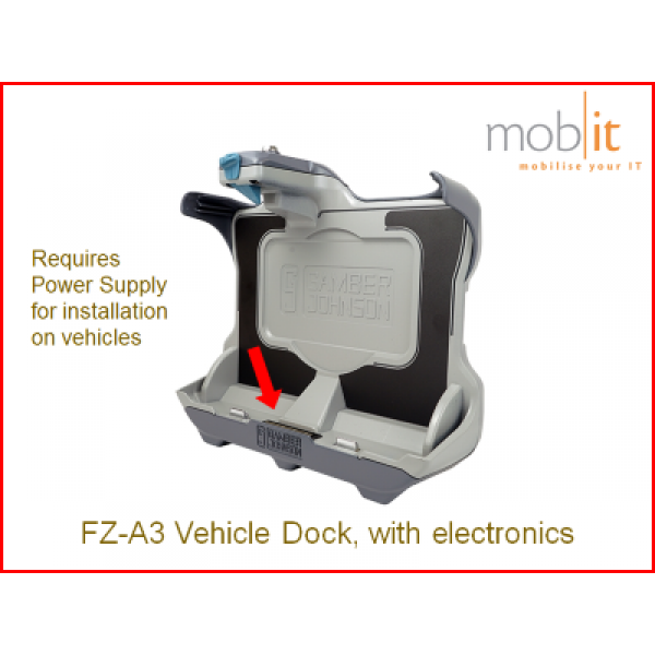 Panasonic Toughbook FZ-A3, Vehicle Dock with electronics | ☎ +41 44 800 16 30, info@mobit.ch