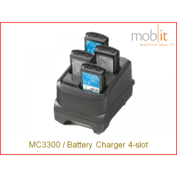 Zebra MC3300 Mobile Computer | Battery Charger 4-slot | ☎ 044 800 16 30 | mobit