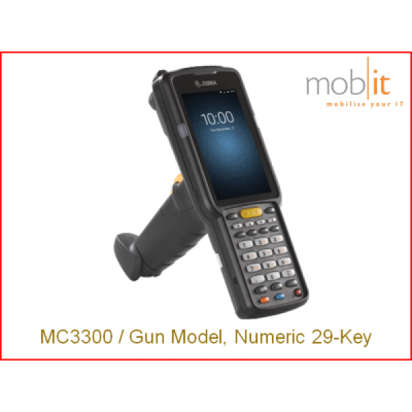 Zebra MC9300 Mobile Computer | Gun 29-Key | ☎ 044 800 16 30 | mobit