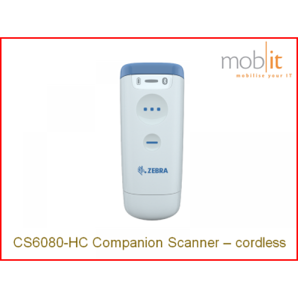Zebra CS60-HC Companion Scanner, cordless | ☎ 044 800 16 30, info@mobit.ch