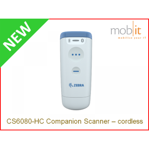 Zebra CS60-HC Companion Scanner, cordless | info@mobit.ch, ☎ +41 44 8001630