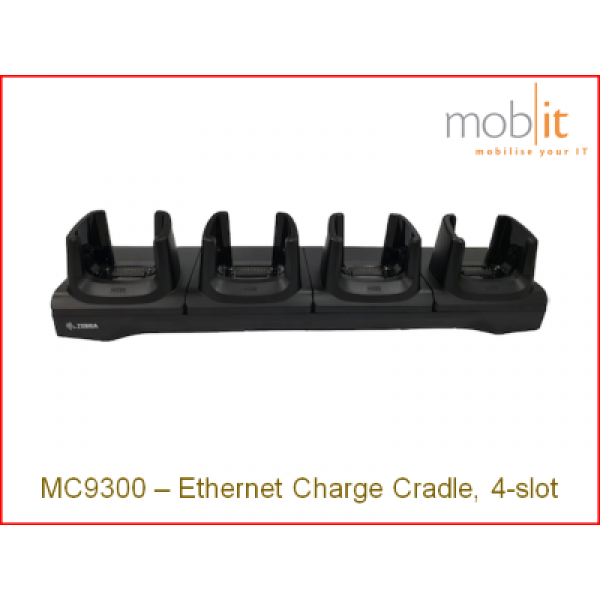 Zebra MC9300 Cradle | CRD-MC93-4SETH-01 | ☎ 044 800 16 30 | mobit