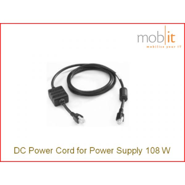 Zebra Mobile Computer Power Cord 108W | CBL-DC-381A1-01 | ☎ 044 800 16 30 | mobit