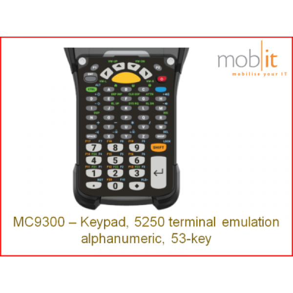 Zebra MC9300 Keypad 53 | KYPD-MC93535250-01 | ☎ 044 800 16 30 | mobit