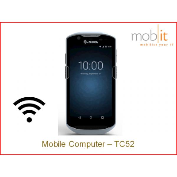 Zebra TC52 Android WLAN | TC520K-1PEZU4P-A6 | ☎ 044 800 16 30 | mobit
