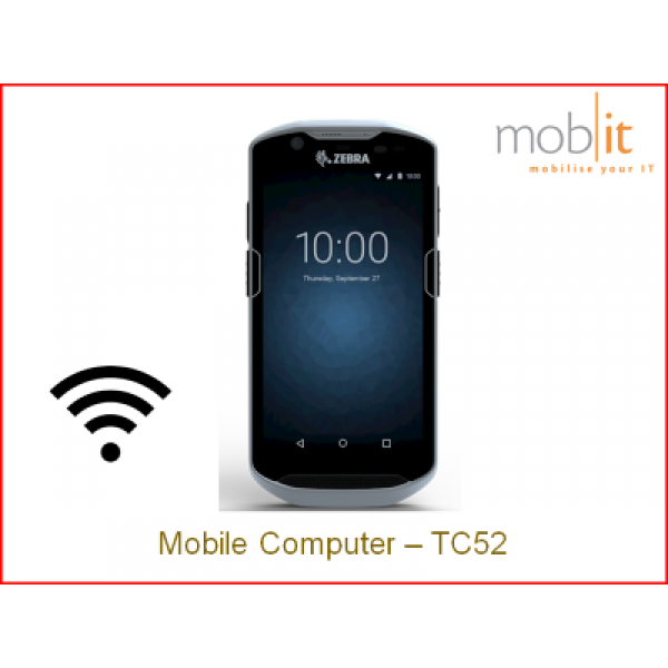 Zebra TC52 Mobile Computer - Healthcare Handheld Android WLAN | TC520K-1HEZU4P-A6 | mobit