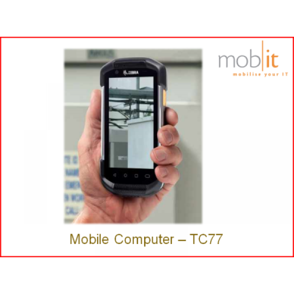 Zebra TC77 Android WLAN + WWAN | ☎ 044 800 16 30 | mobit