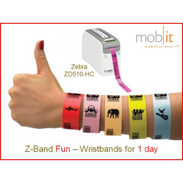 Zebra Z-Band Fun Wristbands, Armbänder, Bracelets |☎ 044 800 16 30, mobit.ch