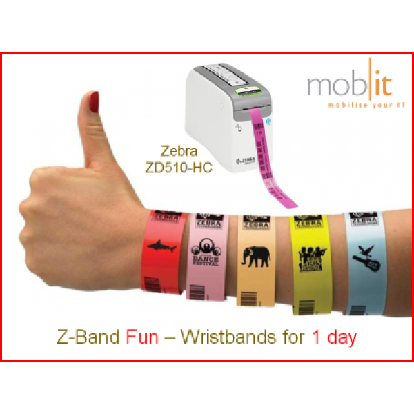 Zebra Z-Band Fun Wristbands, Armbänder, Bracelets |☎ 044 800 16 30, mobit.ch