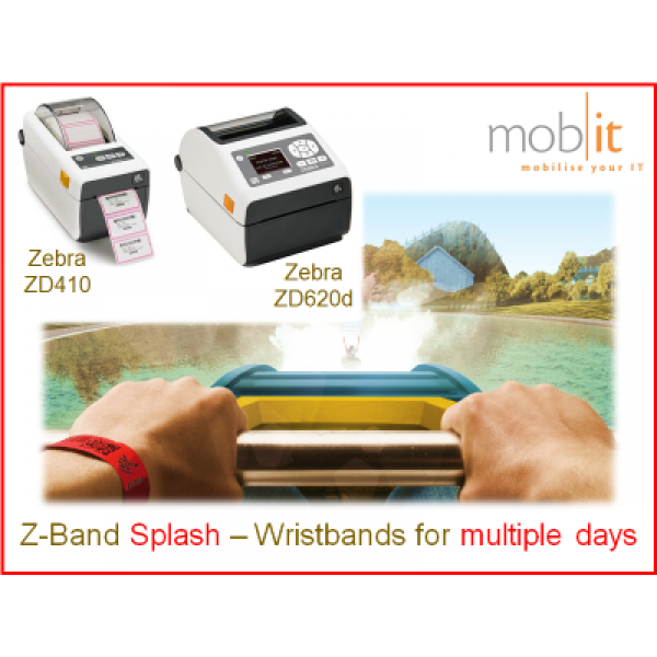 Zebra Z-Band Splash Wristbands, Armbänder, Bracelets |☎ 044 800 16 30, mobit