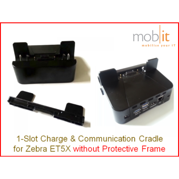 1-Slot Charge and Communication Cradle for Zebra ET5X │☎ 044 800 16 30 ▶ info@mobit.ch