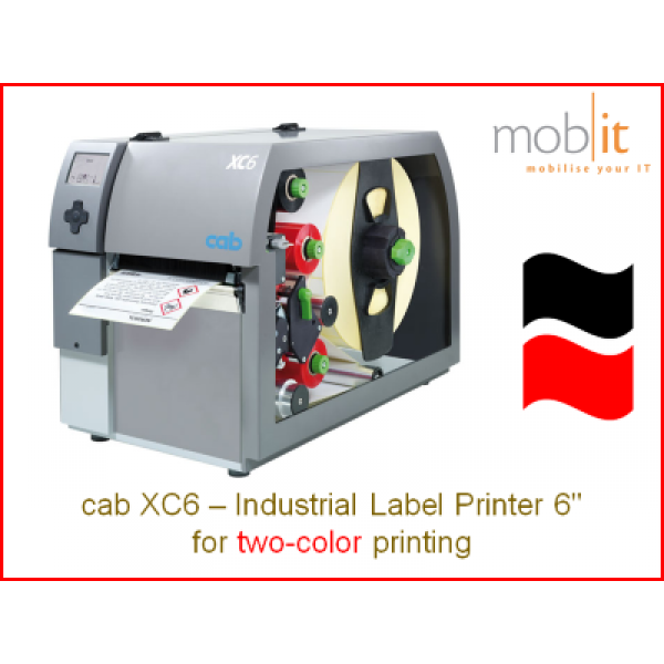 cab XC6 Industrial Label Printer, 6-inch   ☎ 044 800 16 30 ★ info@mobit.ch