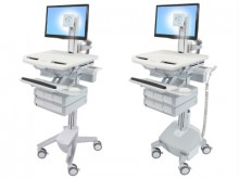 Ergotron Style View | Medical Caddy, Computerwagen, Chariots médicaux | mobit.ch