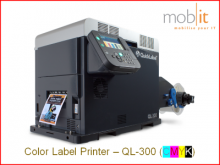 AstroNova QuickLabel QL-300 Color Label Printer CMYK 1200 dpi | ☎ 044 800 16 30 | mobit.ch