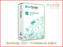 BarTender 2021 Label Software - Professional Edition | ☎ 044 800 16 30, info@mobit.ch