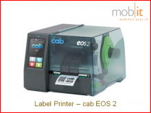 cab EOS2 Label Printer, Etikettendrucker, Imprimante d'étiquettes, Stampante per etichette | ☎ 044 800 16 30, mobit.ch