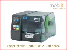 cab EOS2 mobile Label Printer, Etikettendrucker, Imprimante d'étiquettes, Stampante per etichette | ☎ 044 800 16 30, mobit.ch