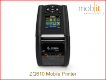 Zebra ZQ610 Mobile Printer, mobiler Drucker, Imprimante mobile | ☎ 044 800 16 30 | mobit